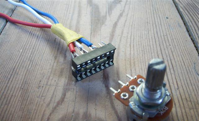 How do I connect the potentiometer to the the breadboard? Wiring Without A Breadboard on wiring a battery, wiring a mosfet, wiring a breakout board, wiring a box, wiring a lcd, wiring a circuit board, wiring a relay, wiring a hot plate, wiring a voltmeter, wiring a switch, wiring a potentiometer, wiring a speaker,